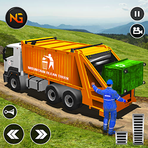 Offroad Garbage Truck: Dump Truck Driving Games For PC / Windows 7/8/10 / Mac – Free Download