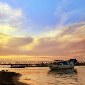 barombong bridge II by Ali Yunianto - Landscapes Waterscapes