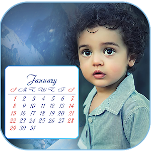 Kids Photo Calendar Maker 2017