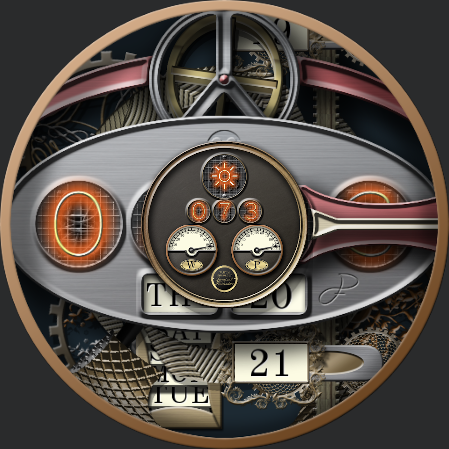 Steampunk VII for WatchMaker Screenshot 4