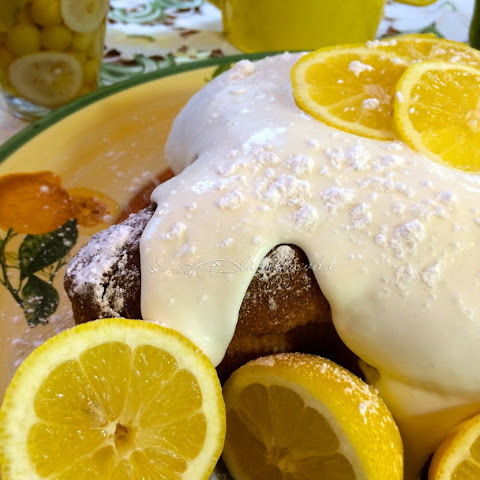 Lemon Dove Cake with Limoncello Cream 'Columba di Pasqua'