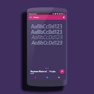 Neptune Purple Theme CM13/12- screenshot thumbnail
