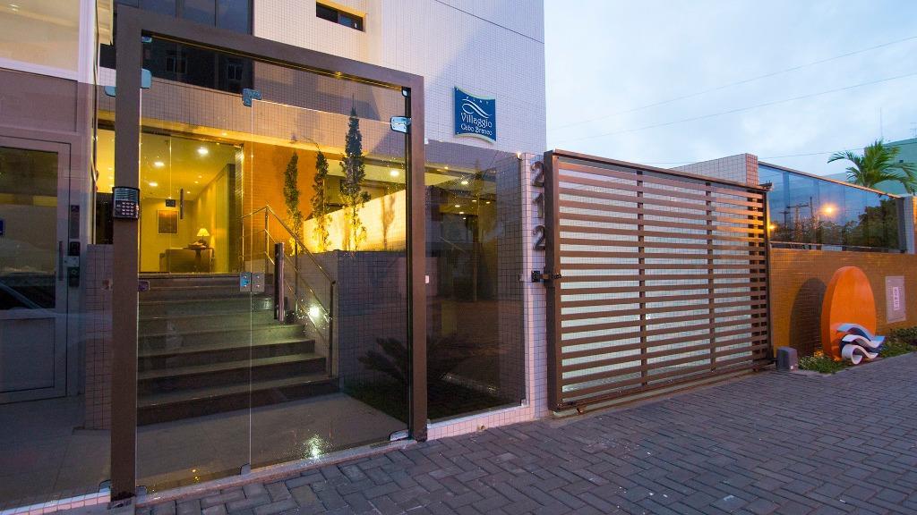 Flat com 1 dormitório à venda, 45 m² por R$ 350.000