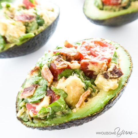 BLT Stuffed Avocado (Paleo, Low Carb)