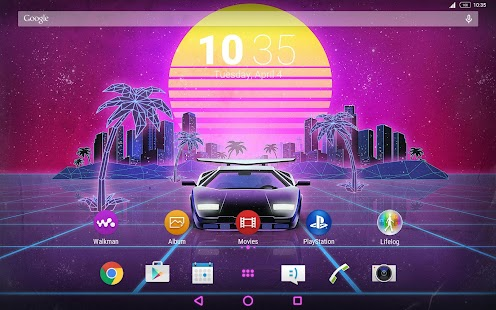 XPERIA™ Mirage Theme