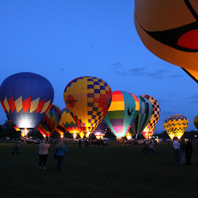 Balloon Glow 2 by Shane Hughes - Transportation Other