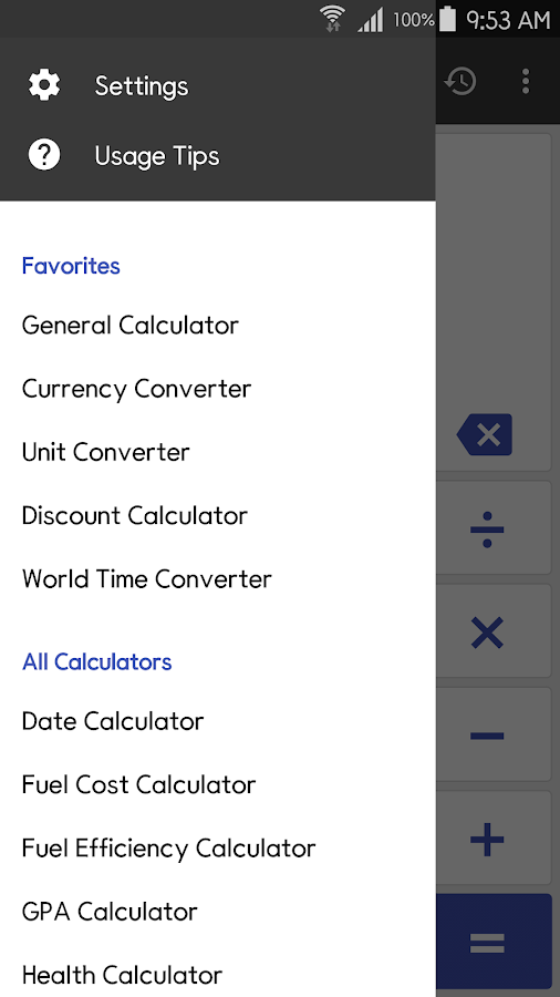 ClevCalc - Calculator Screenshot 0