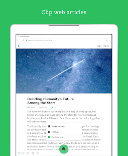Evernote - stay organized. Screenshot