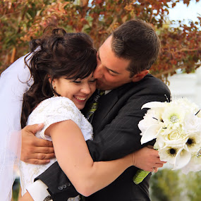 The Little Things by Monica Lawlis - Wedding Bride & Groom ( happy, bride, cute, groom )