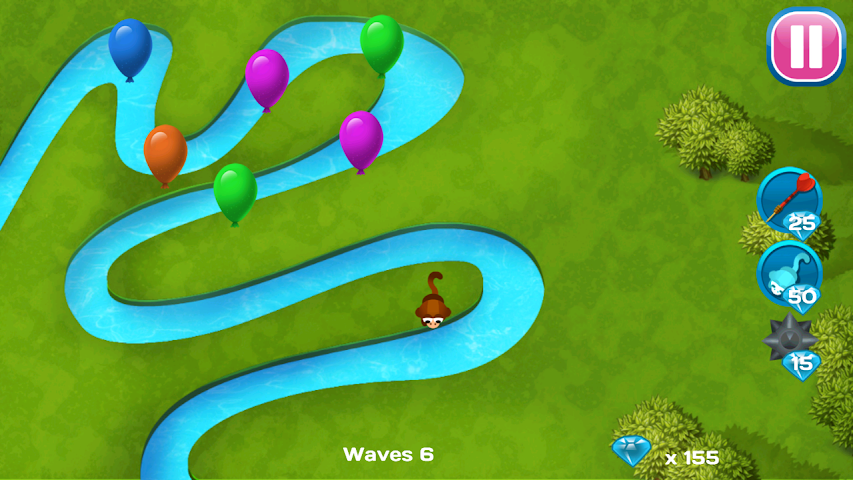 android Balloons Destroyer - Blast! Screenshot 0