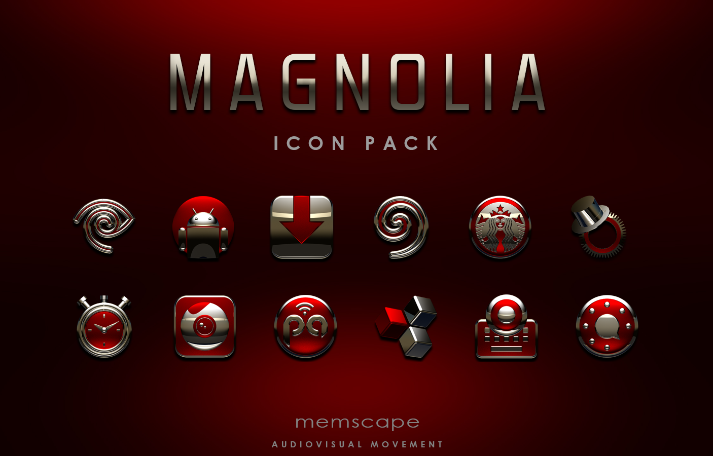 MAGNOLIA Icon Pack Screenshot 5