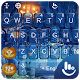 Blue Halloween Keyboard Theme APK