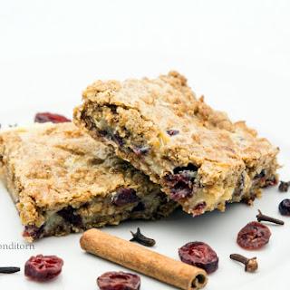 Dried Cranberry Squares Recipes
