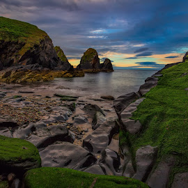 Nohoval Cove by Jim Hamel - Landscapes Travel ( water, ireland, cove, rock, nohoval, coast )