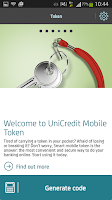 Screenshot of Mobile B@nking by Unicredit Ti