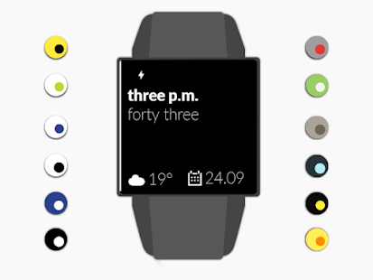 Obvious watchface + - screenshot