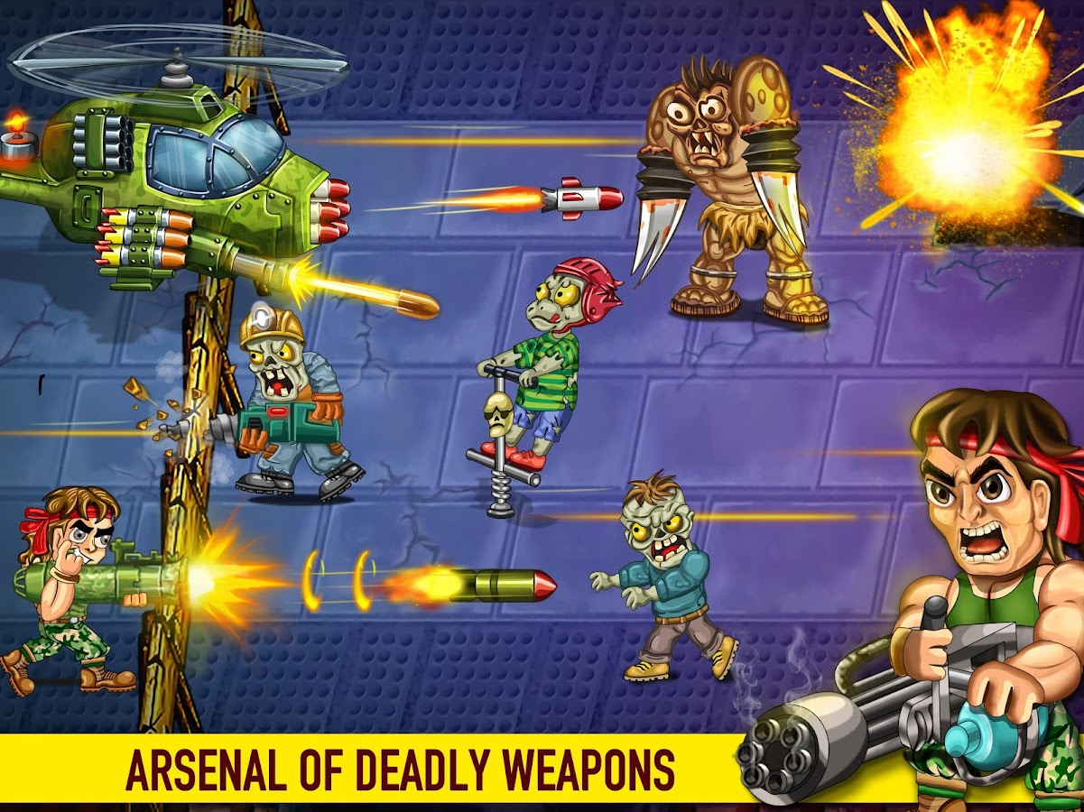 Last Heroes - Explosive Zombie Defense Shooting Screenshot 9