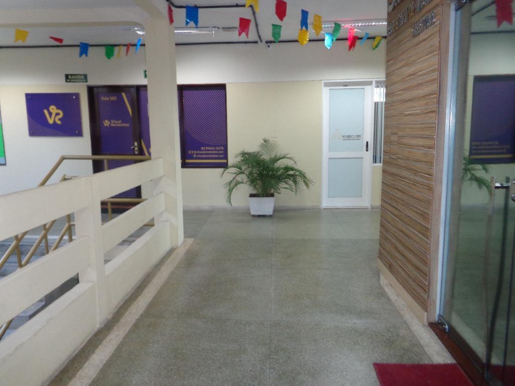 Sala comercial para locação, Tambaú, João Pessoa.