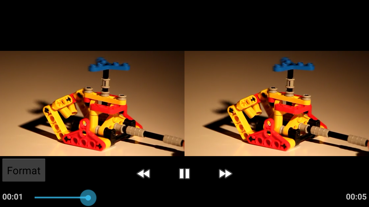 Side-By-Side Video Player Pro Screenshot 2