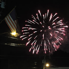 Taste of Enfield Fourth of July Fireworks by Susan R Thomas - Public Holidays July 4th