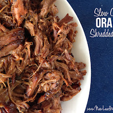 Slow Cooker Orange Shredded Beef