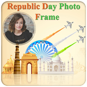 Republic Flag Photo Frame 2017