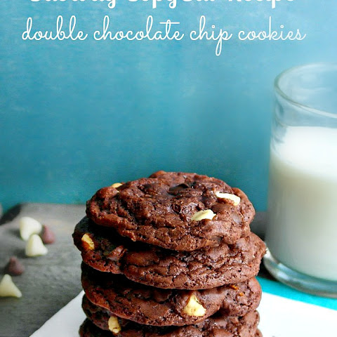 Subway Copycat Double Chocolate Chip Cookies
