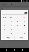 Screenshot of Percentage Calculator