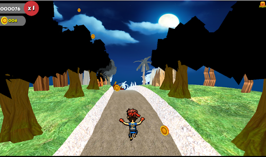 Kung Fu Fighter Run - screenshot