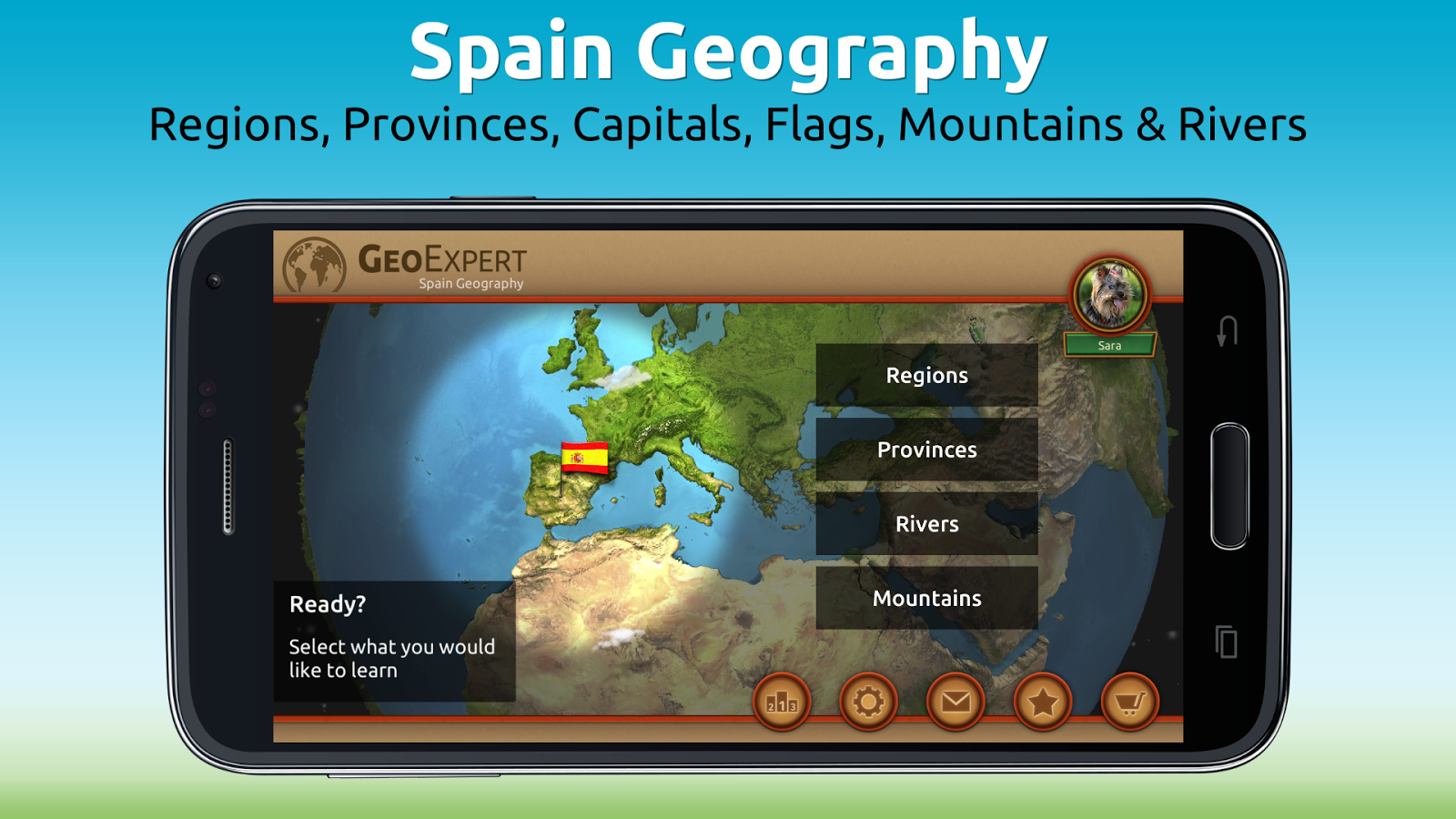 GeoExpert - Spain Geography Screenshot 0