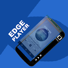 Edge Screen Music player