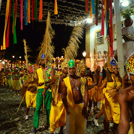 Carnaval at Salvador da Bahia, Brazil. by Haim Rosenfeld - People Musicians & Entertainers ( dreamy, mystery, yellow, travel, shot, sky, shadow, movement, pink, place, light, black, foreground, orange, dream, texture, colors, soul, atmosphere, image, picture, outdoors, scene, lines, view, shore, exposure, dancing, costumes, dancers, colorful, beauty, brasil, real, adventure, carnaval, dreamlike, nikon, salvador da bahia, purple, carnival, green, beautiful, scenic, photo, amazing, great, south america, outdoor, brown, scenery, stunning )