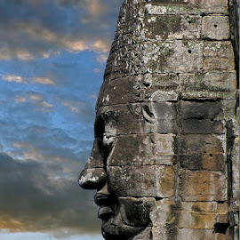 Cambodia by Khaled Ibrahim - Buildings & Architecture Statues & Monuments