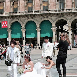 Wedding Photography in Milan by Dennis  Ng - Wedding Groups (  )