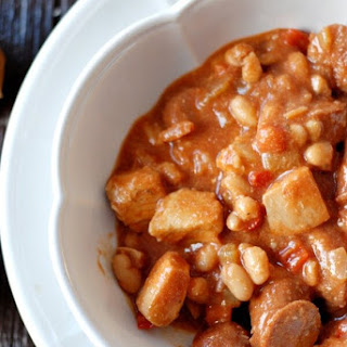 Cajun Chicken and Sausage Cassoulet