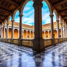 claustro alcázar de Toledo by Roberto Gonzalo - Buildings & Architecture Public & Historical ( toledo, claustro, alcázar,  )
