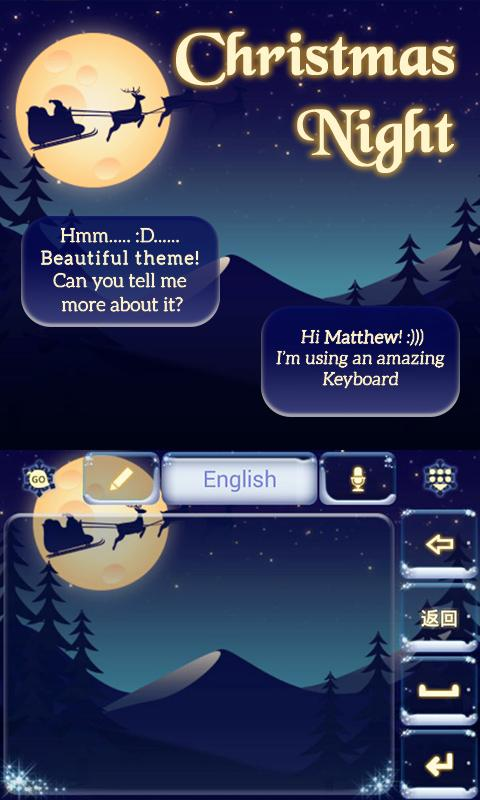 Christmas-Night-Keyboard-Theme 11