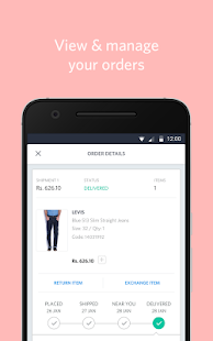 Myntra Online Shopping App APK for iPhone