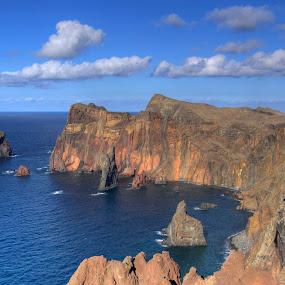 Ponta de São Lourenço, far east of Madeira island by Aleksey Maksimov - Landscapes Mountains & Hills ( mountains, sea, ocean, madeira,  )