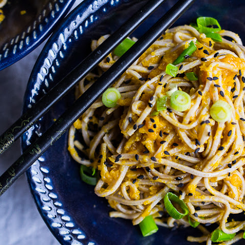 Wasabi Gingered Butternut Squash Noodle Bowl