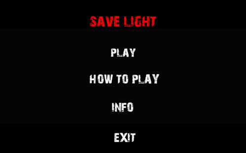 Save Light-Horror Game - screenshot