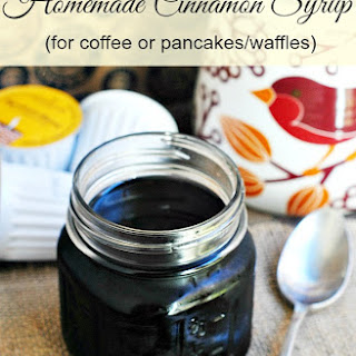 Easy Homemade Cinnamon Syrup