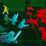 Stickman Neon Warriors: Spiders Battle Icon