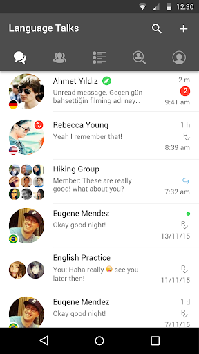 HelloTalk Learn Languages - screenshot