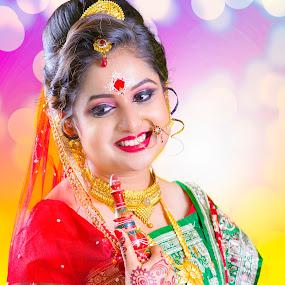 by Subhankar Ghosh - Wedding Bride