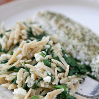 Orzo With Spinach And Feta Cheese Recipes