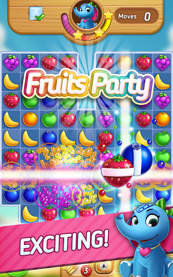 Fruits Mania : Elly's travel Screenshot 2