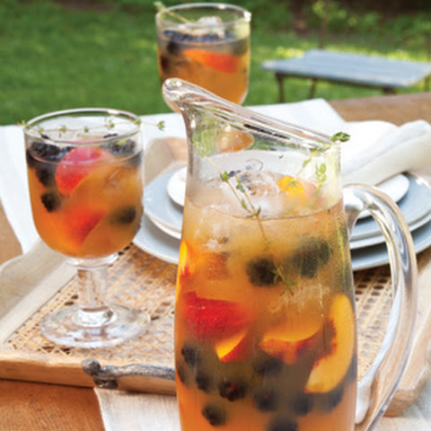 Apricot and Thyme Tea Coolers