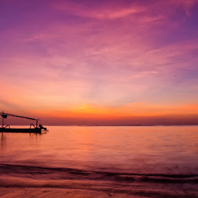 Lonely by Ade Yuda - Landscapes Waterscapes