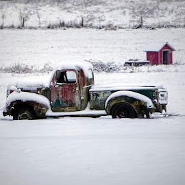 Snow bound  by Todd Reynolds - Transportation Automobiles